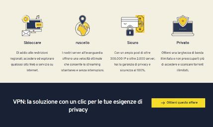 servizio VPN Gratis